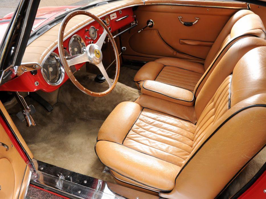 1953 Ferrari 212 Inter retro supercar supercars interior wallpaper