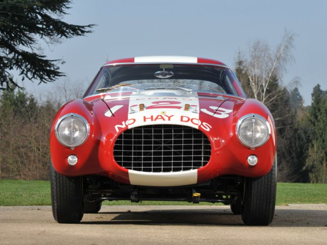 1953 Ferrari 250 MM Berlinetta Pininfarina retro supercar supercars race racing f wallpaper