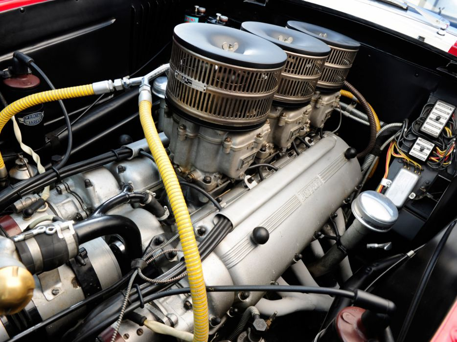 1953 Ferrari 250 MM Berlinetta Pininfarina retro supercar supercars race racing engine engines         r wallpaper