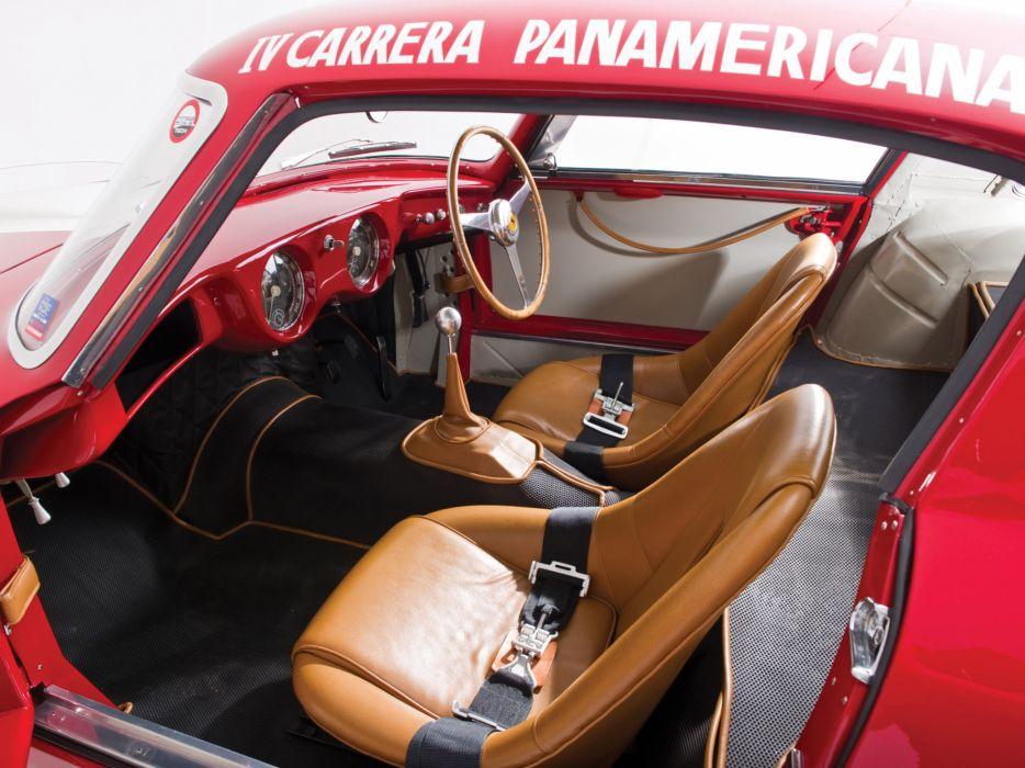 1953 Ferrari 250 MM Berlinetta Pininfarina retro supercar supercars race racing interior wallpaper