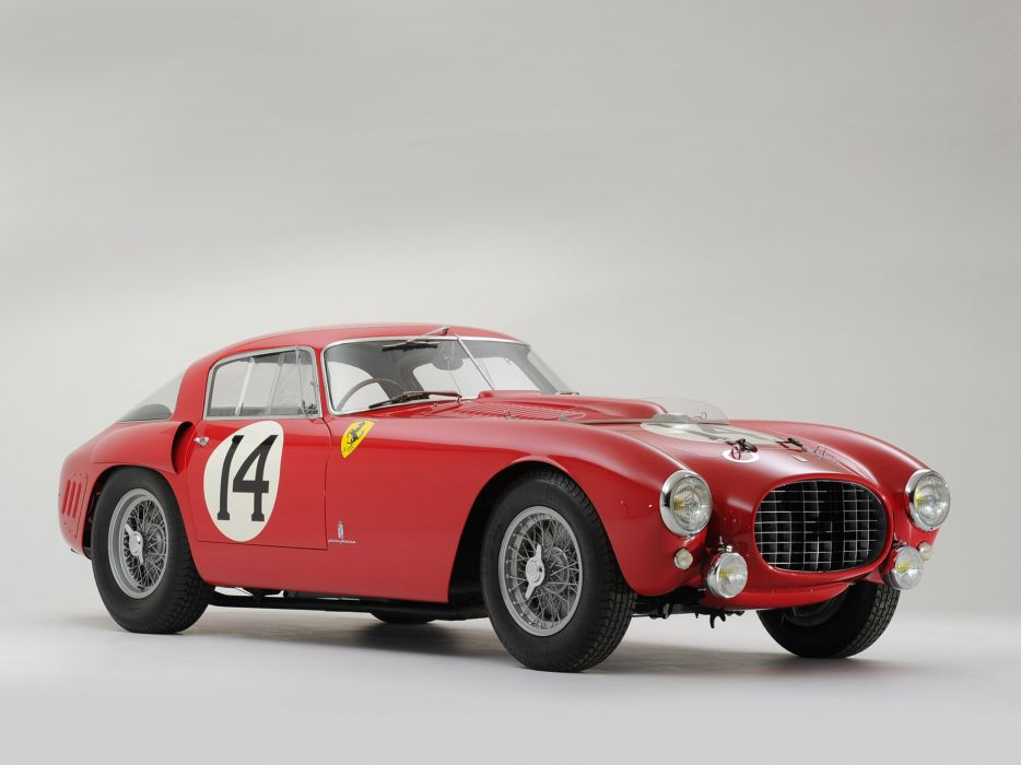 1953 Ferrari 340-375 MM Competizione Pininfarina Berlinetta retro supercar supercars race racing     r wallpaper