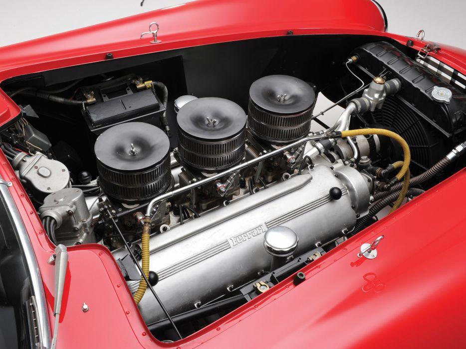 1953 Ferrari 340-375 MM Competizione Pininfarina Berlinetta retro supercar supercars race racing engine engines wallpaper