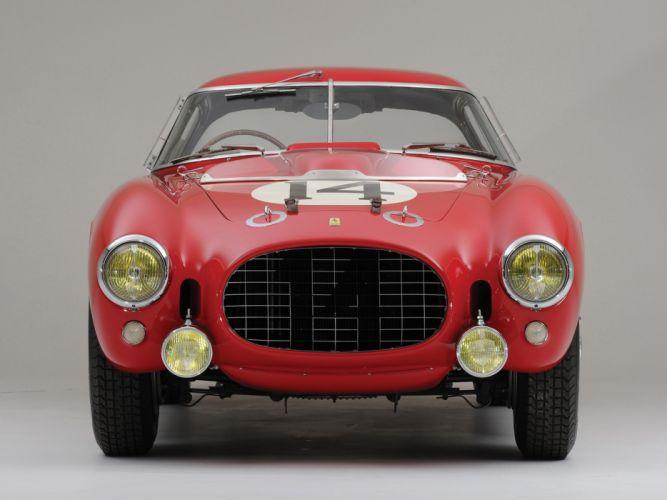 1953 Ferrari 340-375 MM Competizione Pininfarina Berlinetta retro supercar supercars race racing w wallpaper