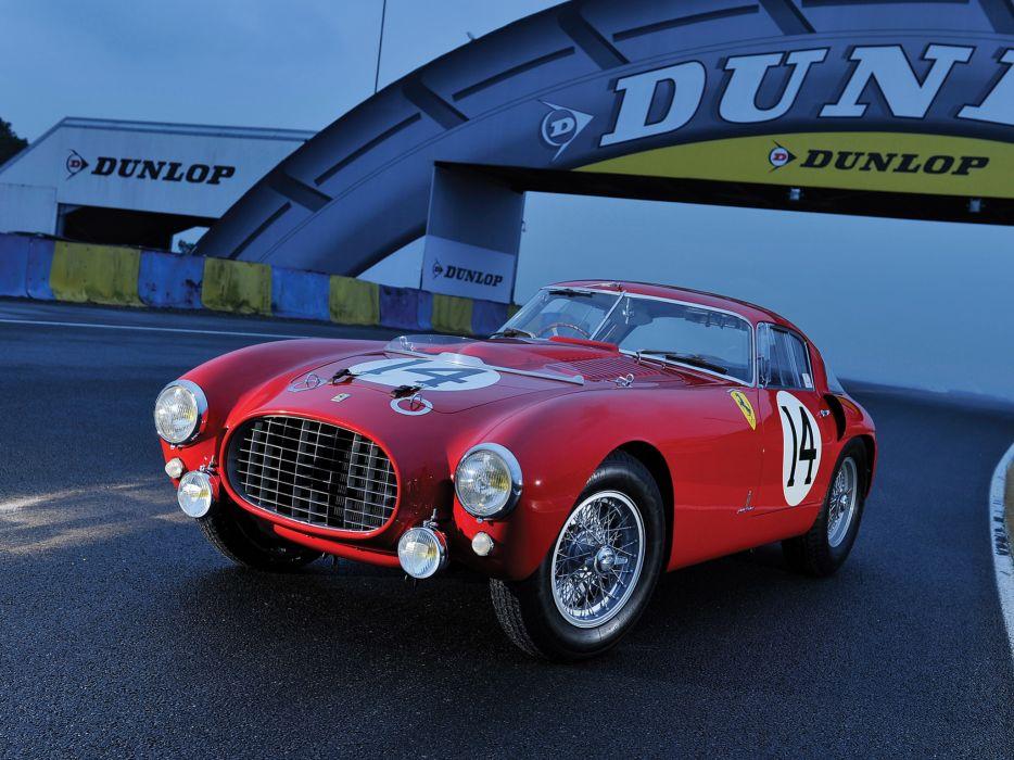 1953 Ferrari 340-375 MM Competizione Pininfarina Berlinetta retro supercar supercars race racing wallpaper