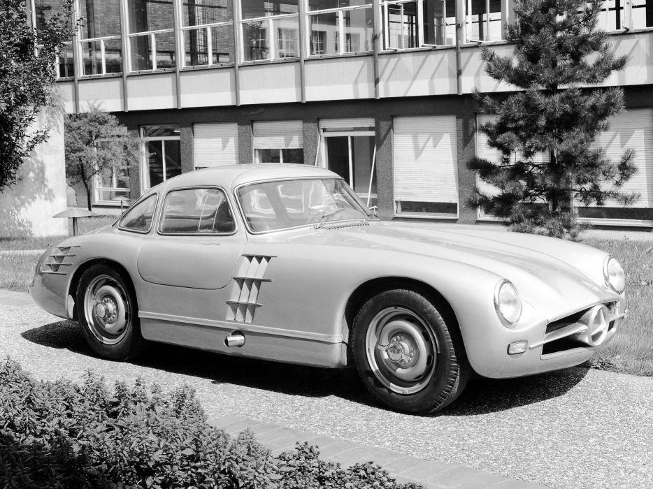 1953 Mercedes Benz 300SL Transaxle Prototype W194 retro supercar supercars          g wallpaper