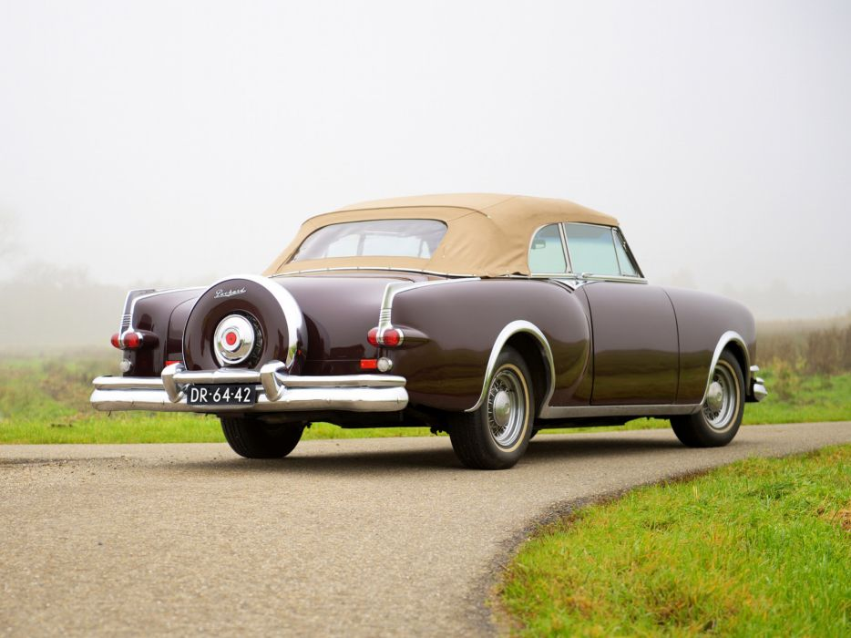 1953 Packard Caribbean Convertible Coupe retro luxury   d wallpaper
