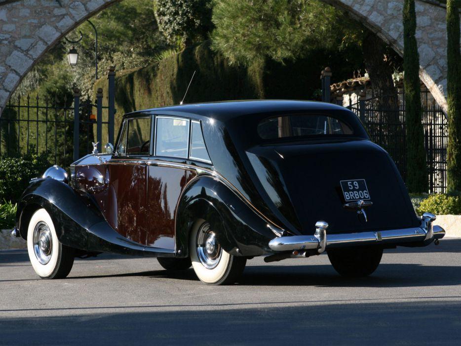 1953 Rolls Royce Silver Wraith Limousine retro luxury    f wallpaper