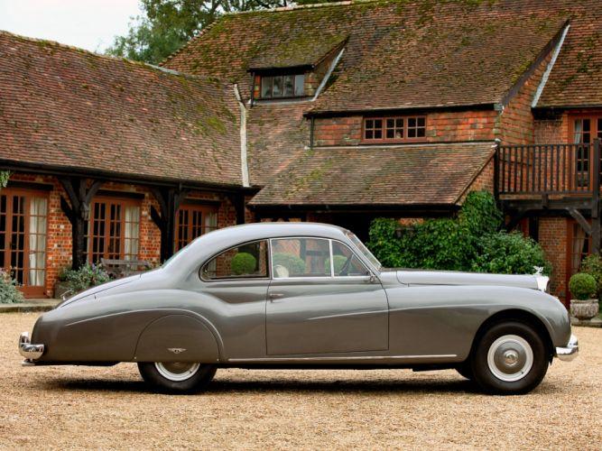 1954 Bentley R-Type Continental Coupe retro luxury g wallpaper