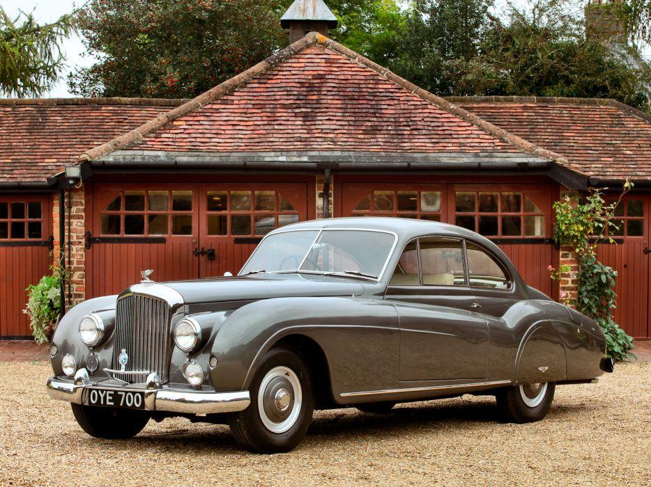 1954 Bentley R-Type Continental Coupe retro luxury wallpaper
