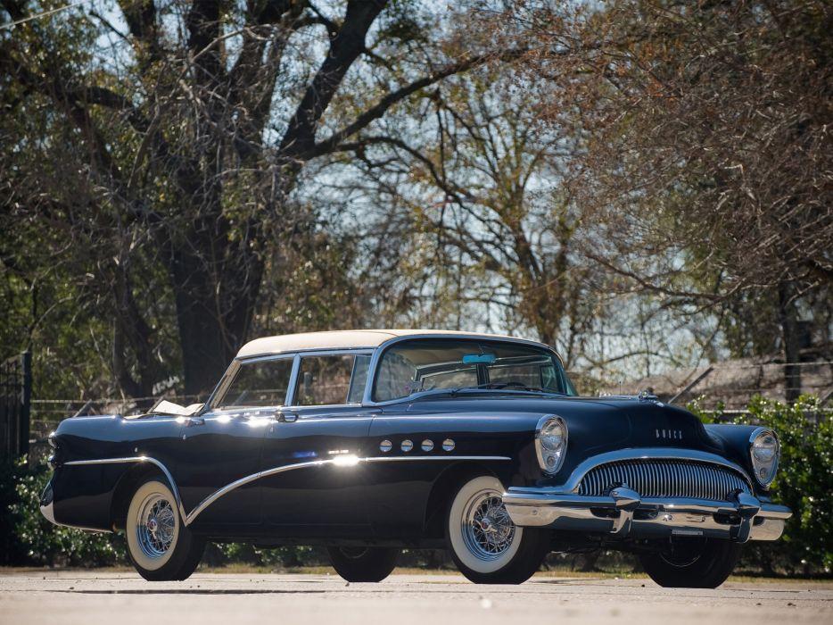 1954 Buick Landau Show retro luxury wallpaper