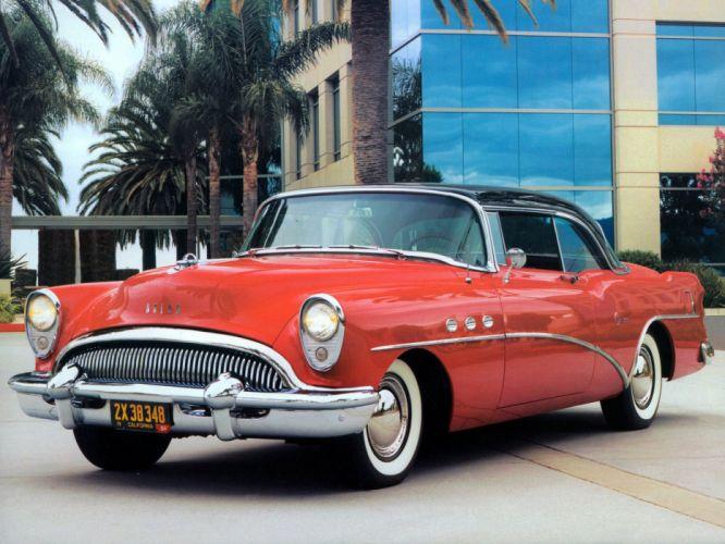 1954 Buick Super Riviera Coupe retro wallpaper