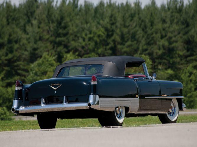 1954 Cadillac Eldorado Convertible retro luxury g wallpaper