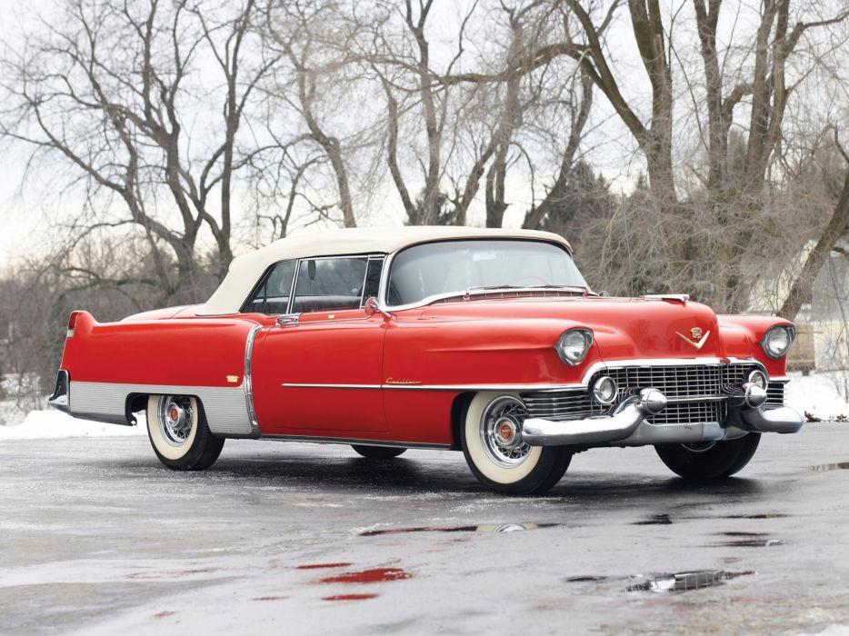 1954 Cadillac Eldorado Convertible retro luxury   v wallpaper