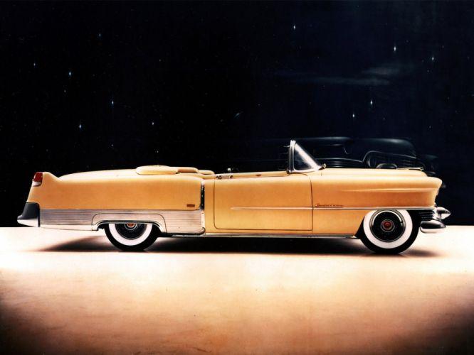 1954 Cadillac Eldorado Convertible retro luxury n wallpaper