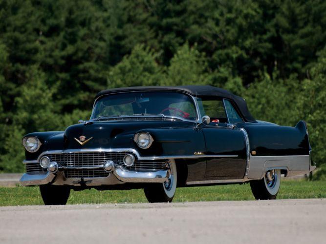 1954 Cadillac Eldorado Convertible retro luxury wallpaper