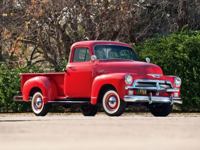 1954 Chevrolet 3100 Pickup truck retro wallpaper