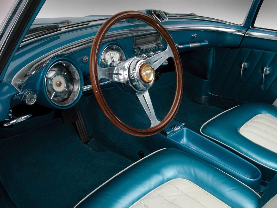 1954 Dodge Firearrow Sport Coupe Concept retro interior wallpaper