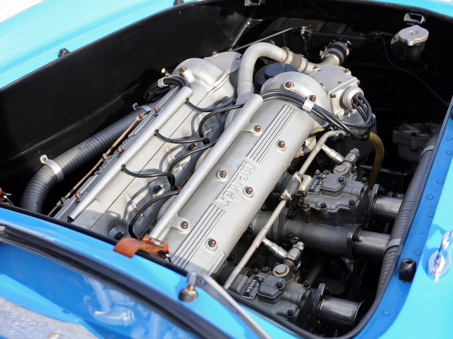 1954 Ferrari 500 Mondial Pininfarina Berlinetta retro supercar supercars race racing engine engines wallpaper