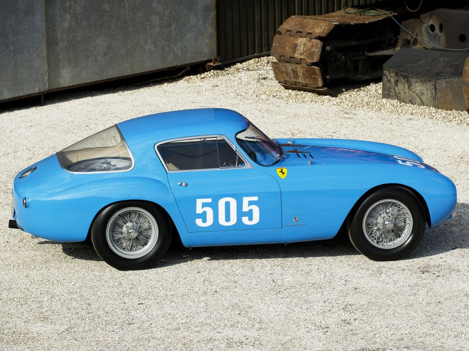 1954 Ferrari 500 Mondial Pininfarina Berlinetta retro supercar supercars race racing g wallpaper