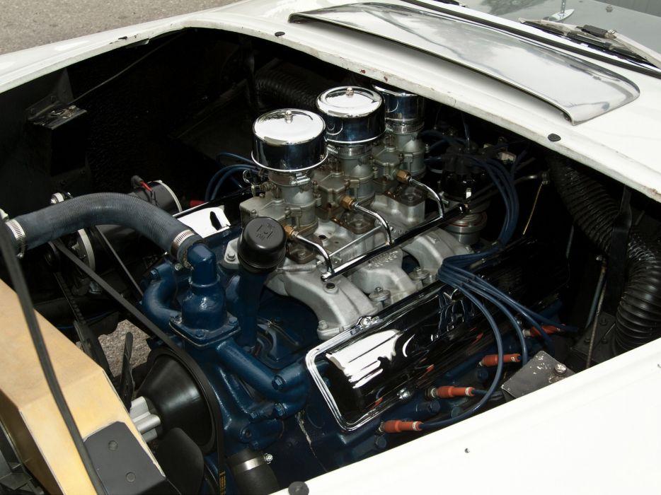1954 Kurtis 500M retro engine engines wallpaper
