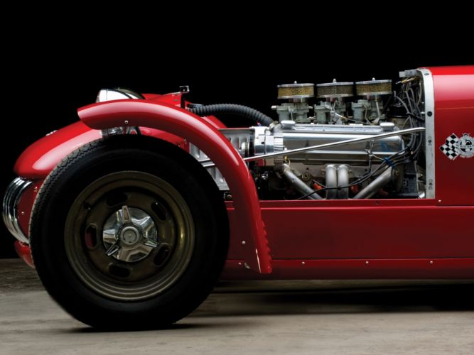 1954 Kurtis 500S retro supercar supercars engine engines wallpaper