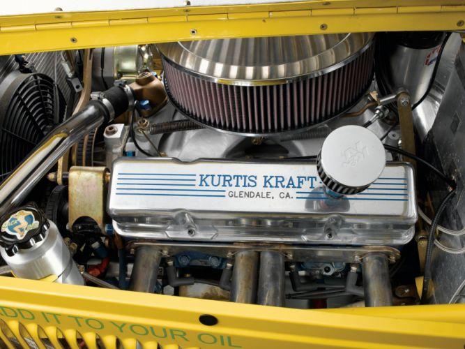 1954 Kurtis 500S retro supercar supercars race racing engine engines f wallpaper