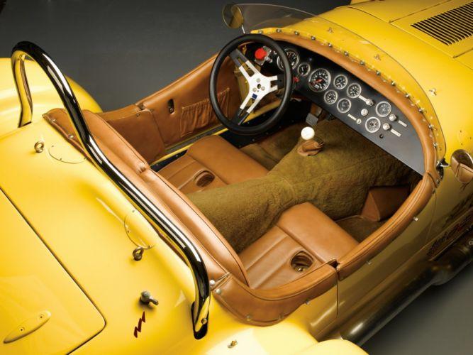 1954 Kurtis 500S retro supercar supercars race racing interior wallpaper