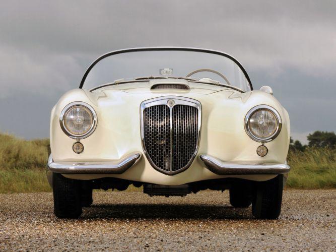 1954 Lancia Aurelia Spyder B24 retro gd wallpaper