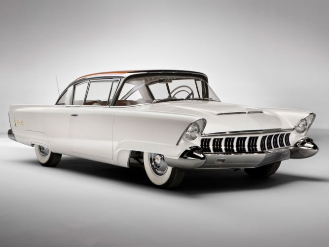 1954 Mercury Monterey XM 800 Concept x-m retro h wallpaper