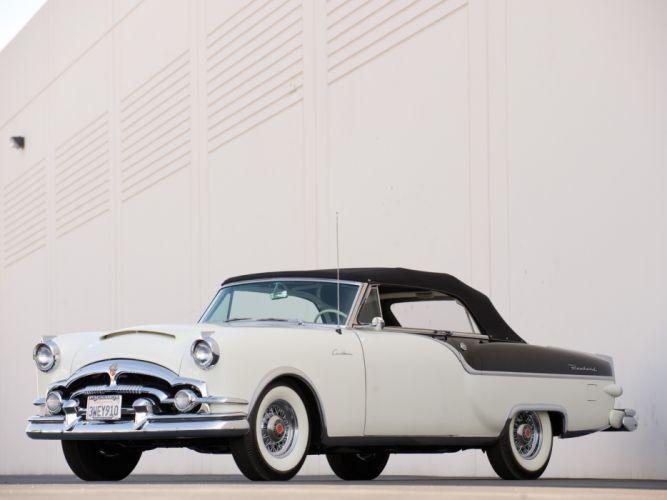 1954 Packard Caribbean Convertible Coupe retro m wallpaper