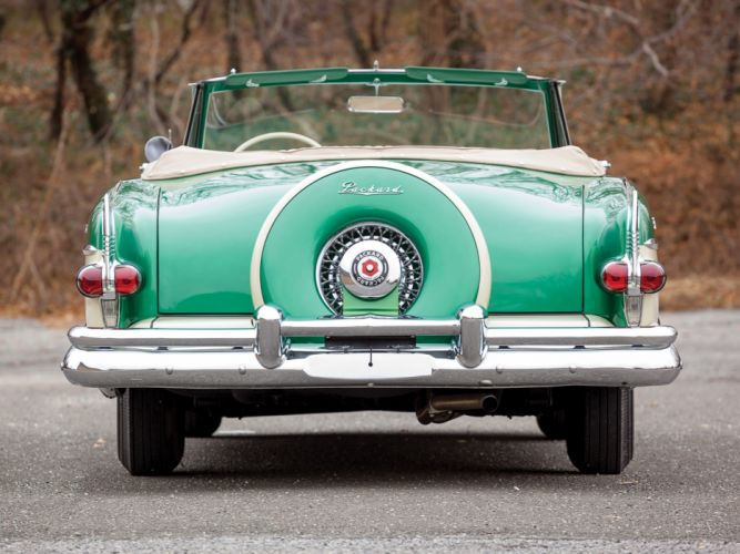 1954 Packard Caribbean Convertible Coupe retro f wallpaper