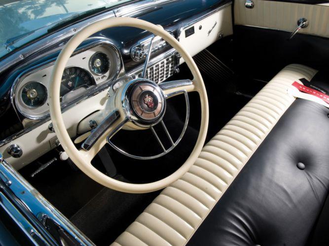 1954 Packard Caribbean Convertible Coupe retro interior wallpaper