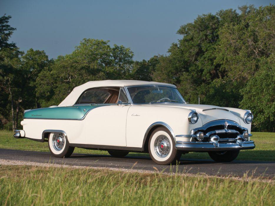 1954 Packard Caribbean Convertible Coupe retro wallpaper