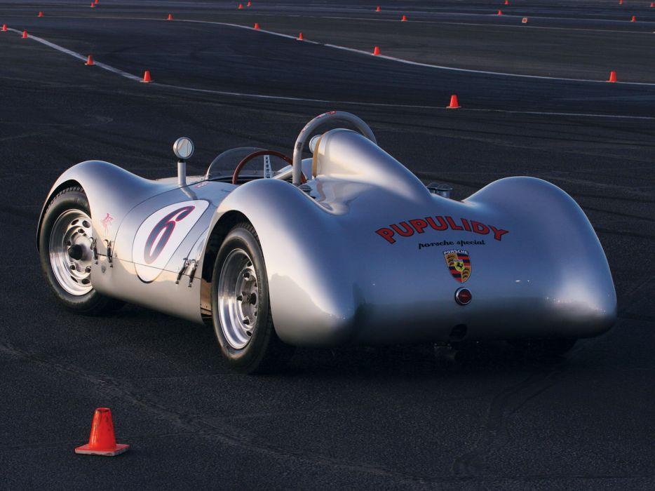 1954 Porsche Pupulidy Special retro race racing       d wallpaper