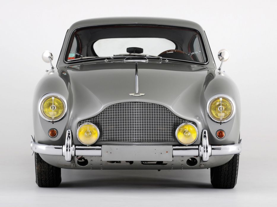 1955 Aston Martin DB24 Saloon retro   f wallpaper
