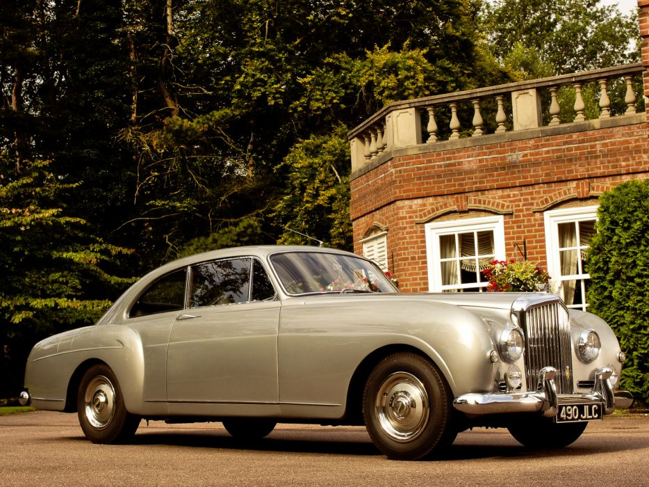 1955 Bentley S1 Continental Sports Saloon retro luxury       h wallpaper