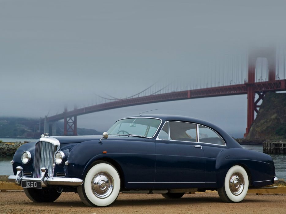 1955 Bentley S1 Continental Sports Saloon retro luxury    d wallpaper