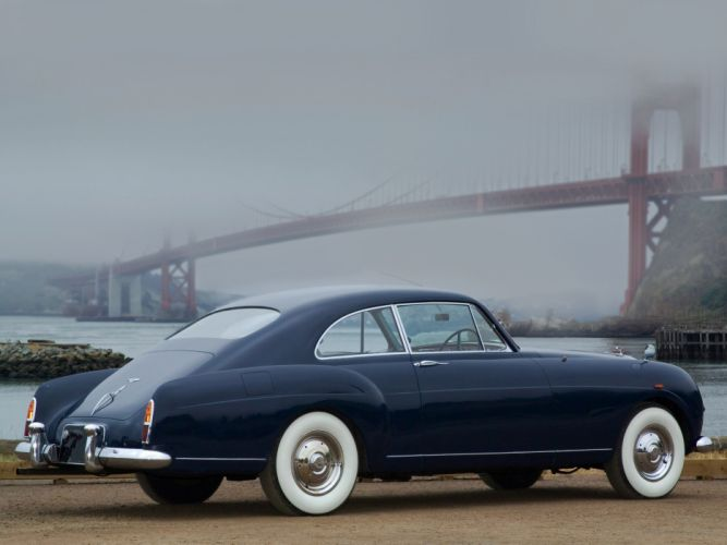 1955 Bentley S1 Continental Sports Saloon retro luxury f wallpaper