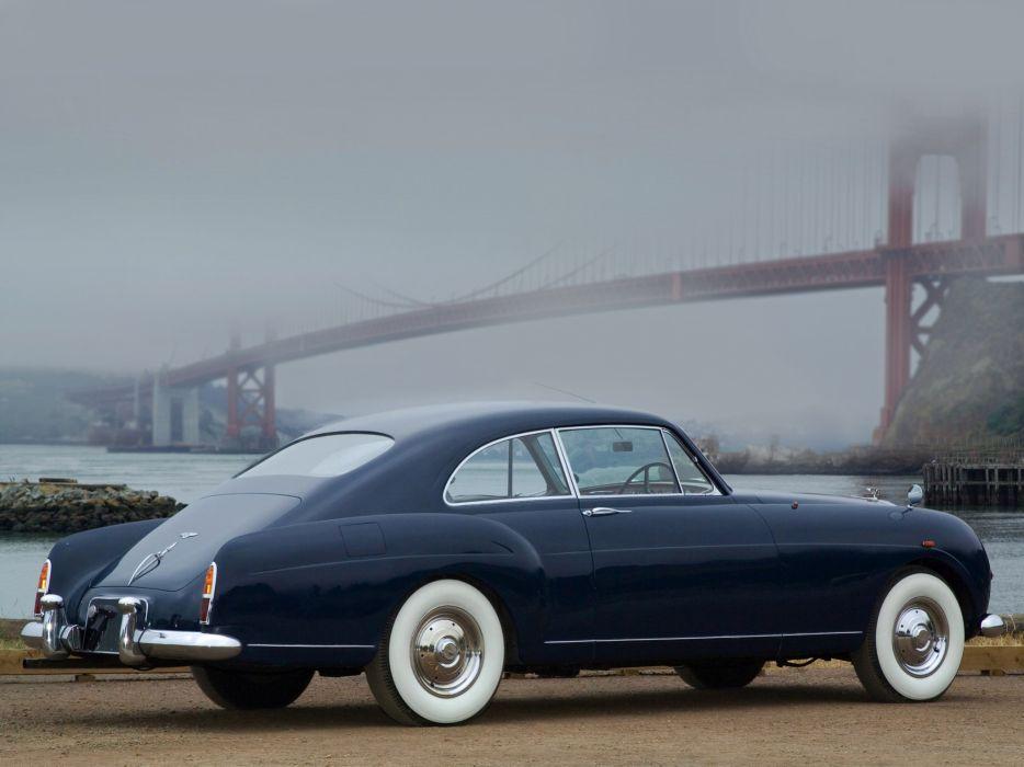 1955 Bentley S1 Continental Sports Saloon retro luxury   f wallpaper
