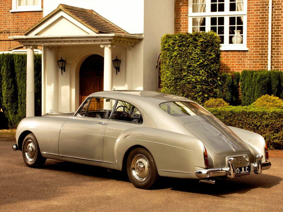 1955 Bentley S1 Continental Sports Saloon retro luxury    k wallpaper
