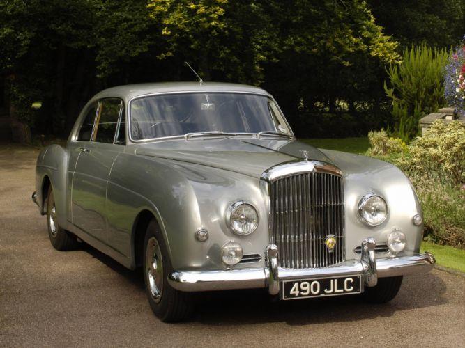 1955 Bentley S1 Continental Sports Saloon retro luxury n wallpaper