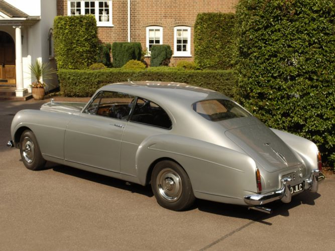 1955 Bentley S1 Continental Sports Saloon retro luxury vb wallpaper