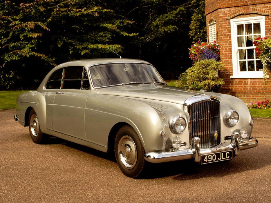 1955 Bentley S1 Continental Sports Saloon retro luxury wallpaper