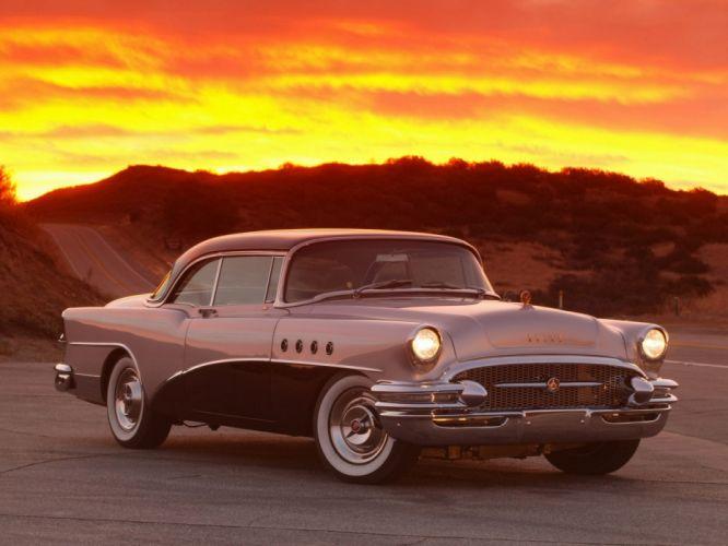 1955 Buick Roadmaster retro g wallpaper