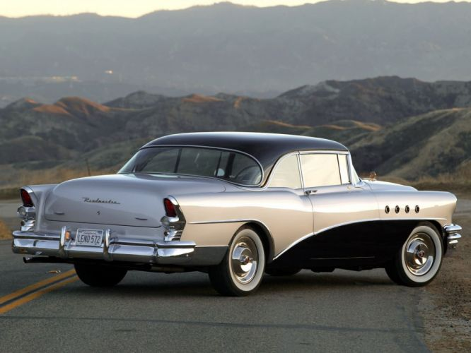1955 Buick Roadmaster retro f wallpaper