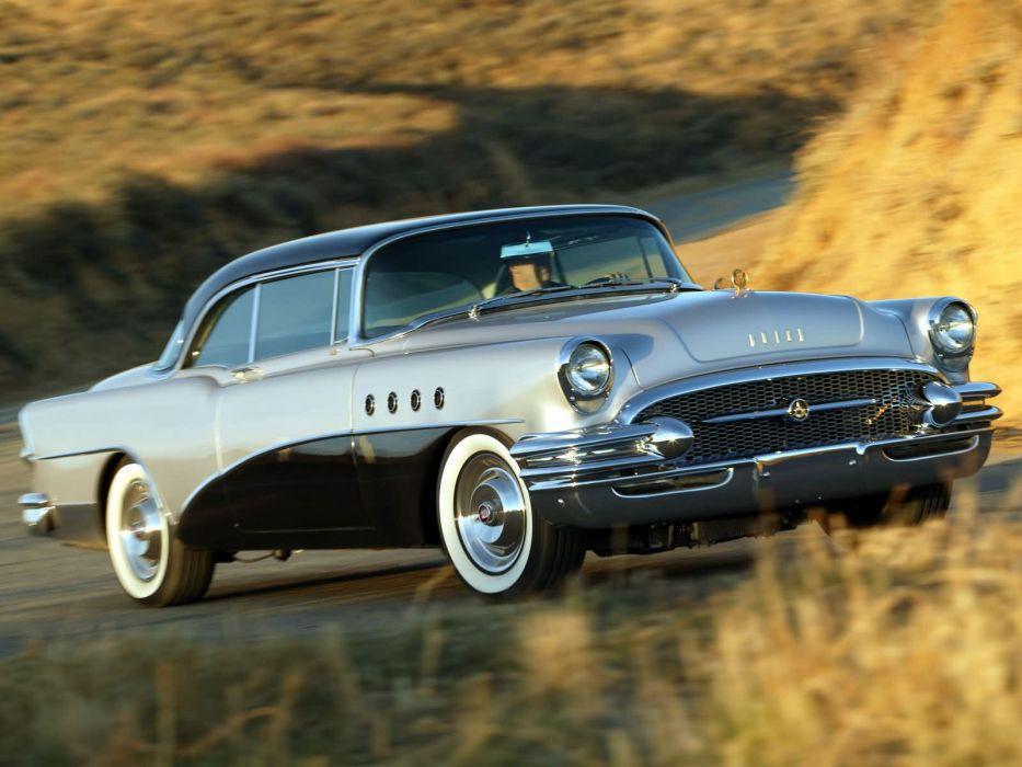 1955 Buick Roadmaster retro  m wallpaper