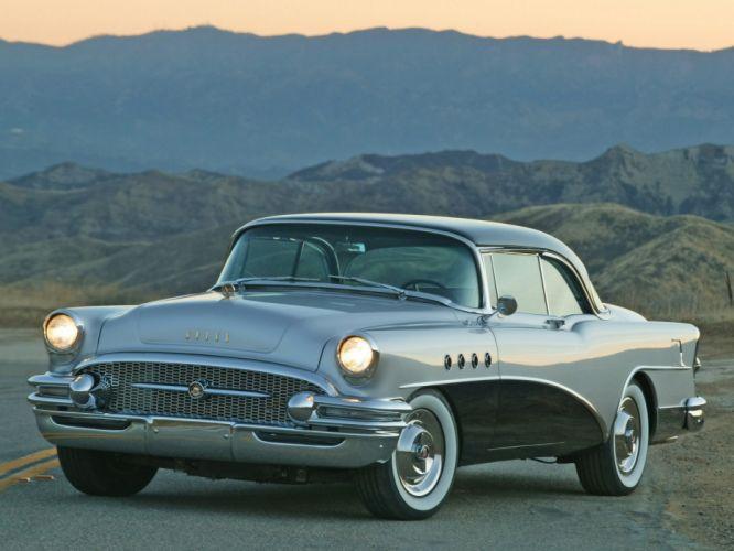 1955 Buick Roadmaster retro wallpaper