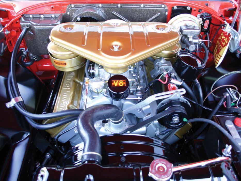 1955 Chrysler C-300 retro engine engines    f wallpaper