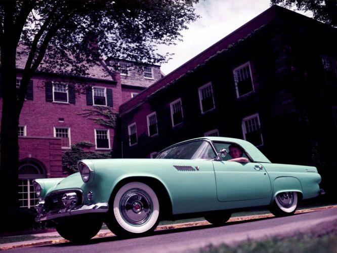 1955 Ford Thunderbird retro gv wallpaper