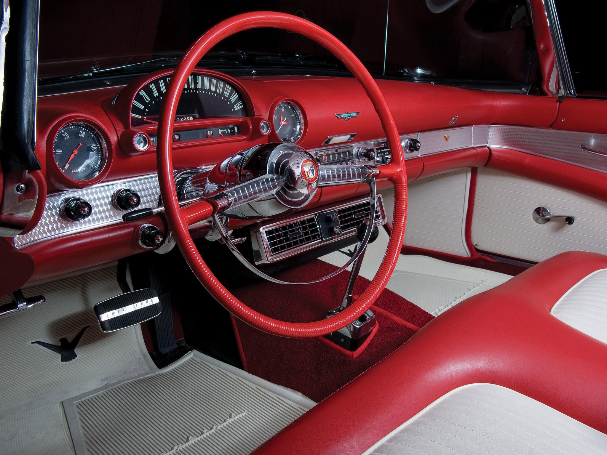 1955 ford thunderbird retro interior wallpaper 2048x1536 105507 wallpaperup